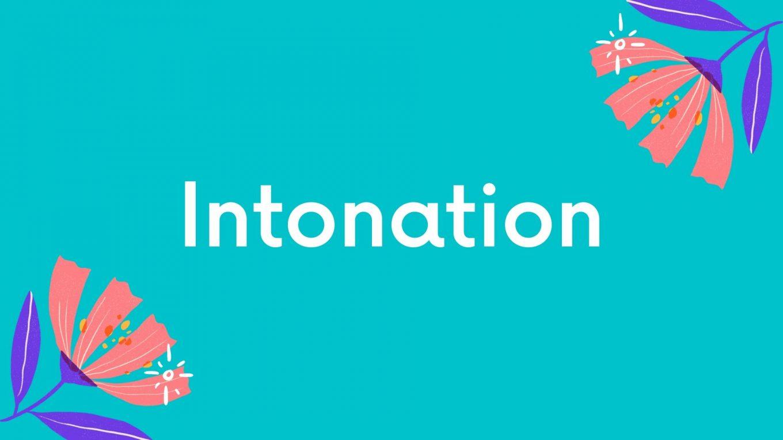 英語のリズムとイントネーション