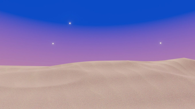 blender砂のテクスチャの作り方
