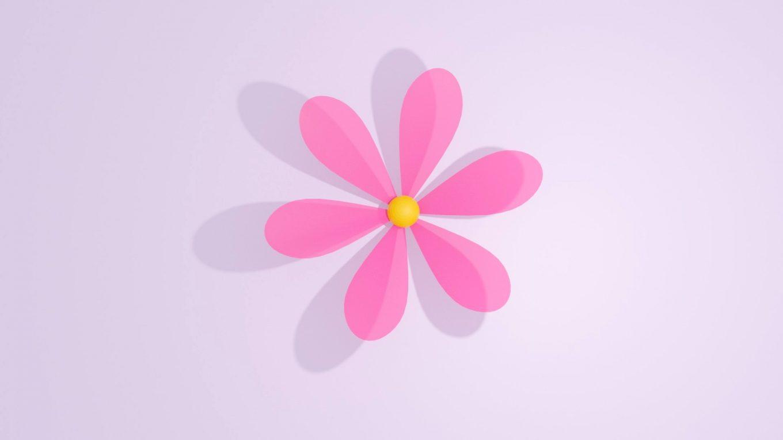 blender花の作り方