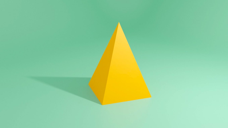 blender四角錐の作り方