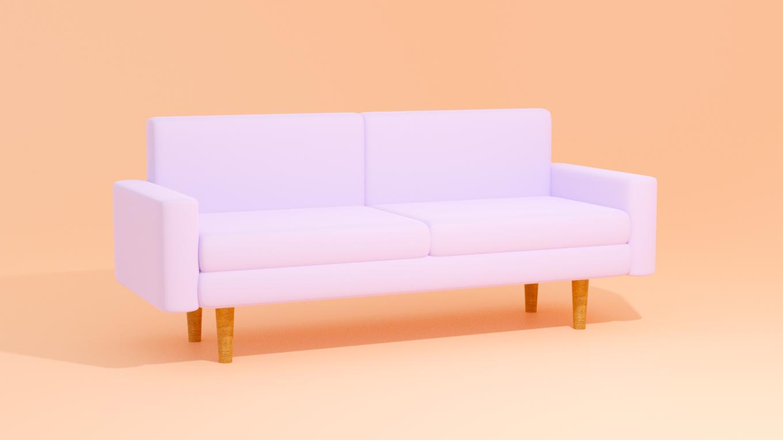 blenderソファの作り方
